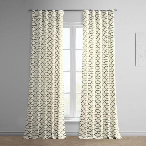 EFF Illusions Printed Window Curtain