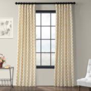 EFF 1-Panel Illusions Printed Window Curtain