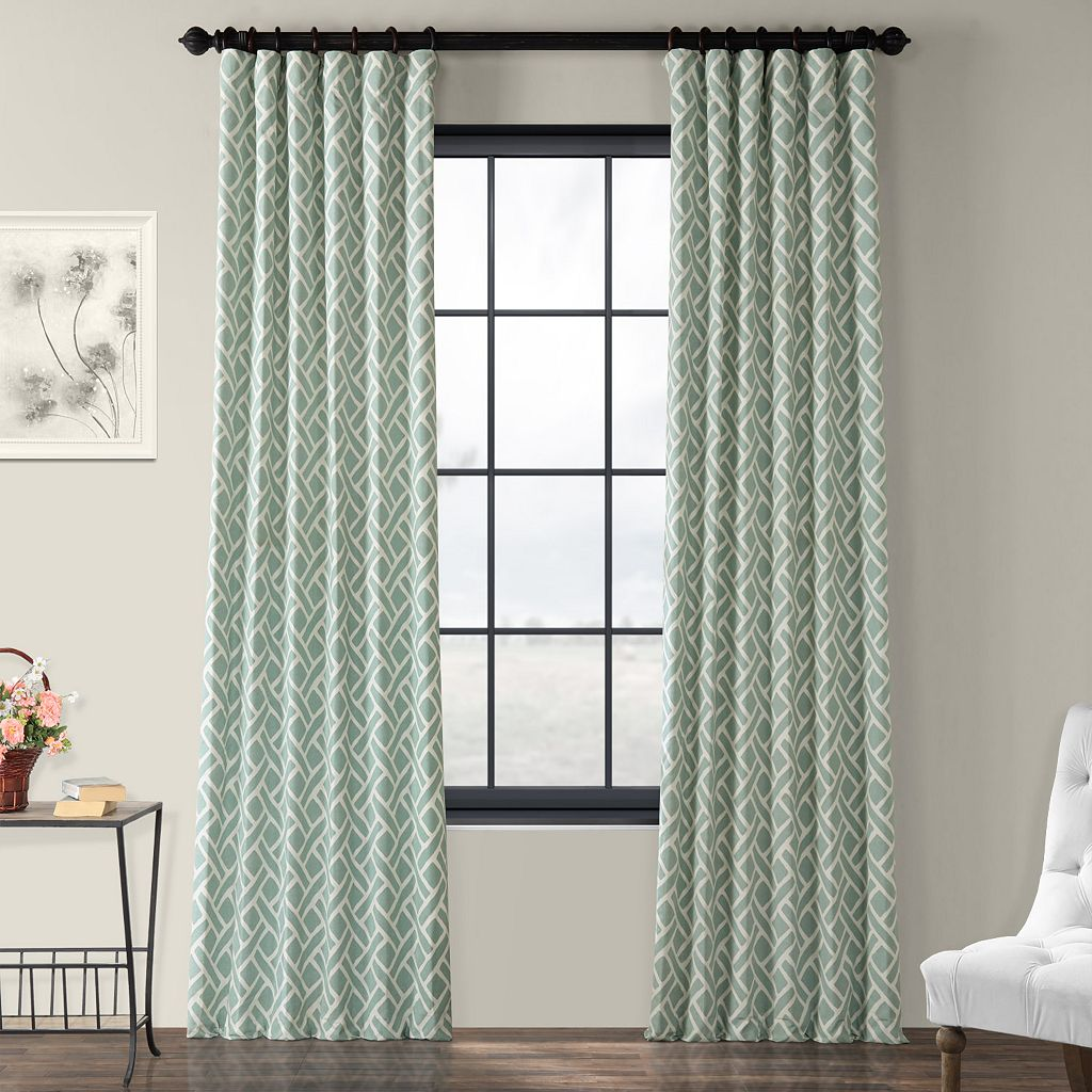 EFF Martinique Printed Window Curtain