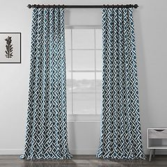 EFF 1-Panel Martinique Printed Window Curtain