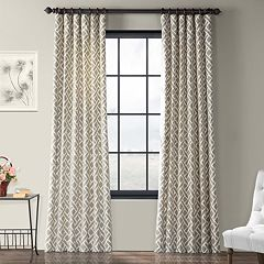 EFF 1-Panel Martinique Printed Window Curtain