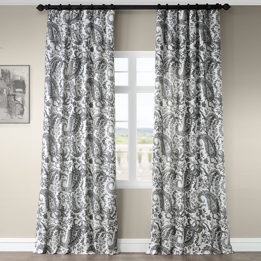 EFF Edina Printed Window Curtain