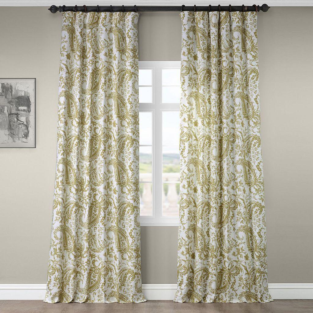 EFF Edina Printed Curtain