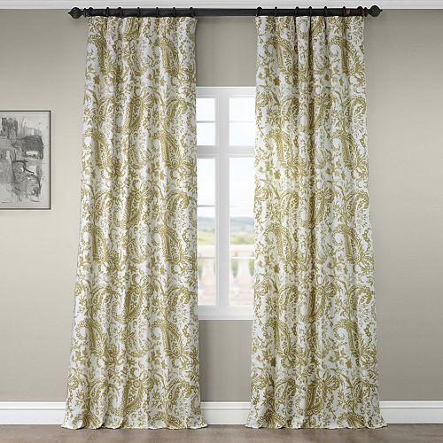 EFF 1-Panel Edina Printed Window Curtain