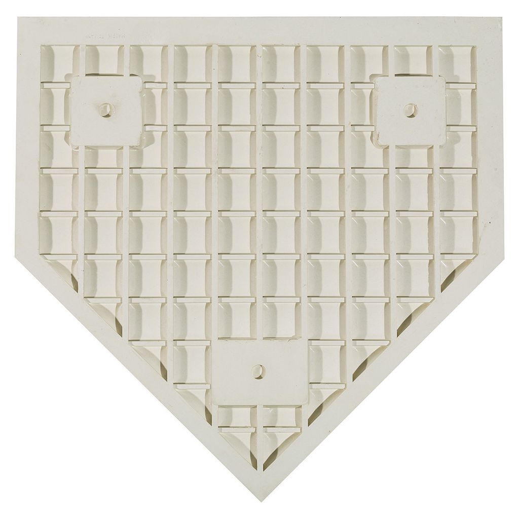 Franklin Sports MLB Industrial Grade Rubber Home Plate