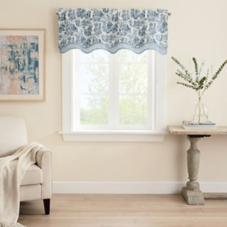 Waverly Charmed Wave Window Valance