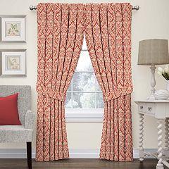 Waverly Donnington Damask Window Curtain