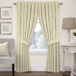 Waverly 1-Panel Donnington Damask Window Curtain