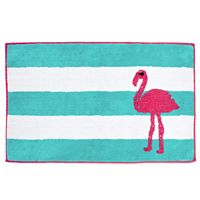 Destinations Pink Flamingo Rug