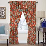 Waverly 1-Panel Brighton Blossom Floral Window Curtain