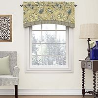 Waverly Brighton Blossom Arched Window Valance