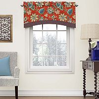 Waverly Brighton Blossom Arched Valance