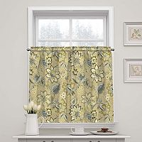 Waverly Brighton Blossom Tier Curtain Pair