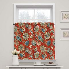 Waverly Brighton Blossom Tier Curtain Pair