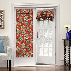 Waverly Brighton 1-Panel Blossom French Door Curtain