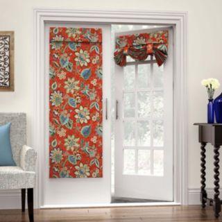 Waverly Brighton 1-Panel Blossom French Door Curtain
