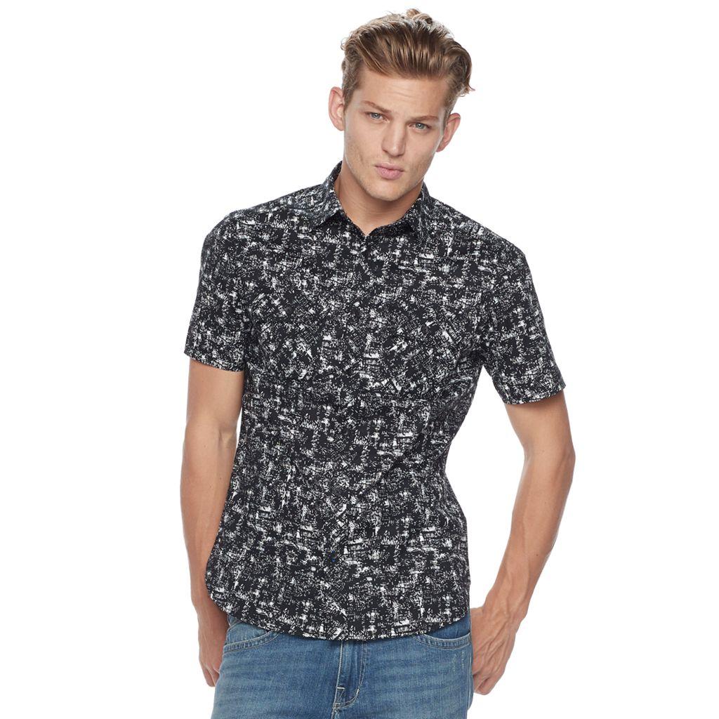 Men's Rock & Republic Stretch Poplin Button-Down Shirt