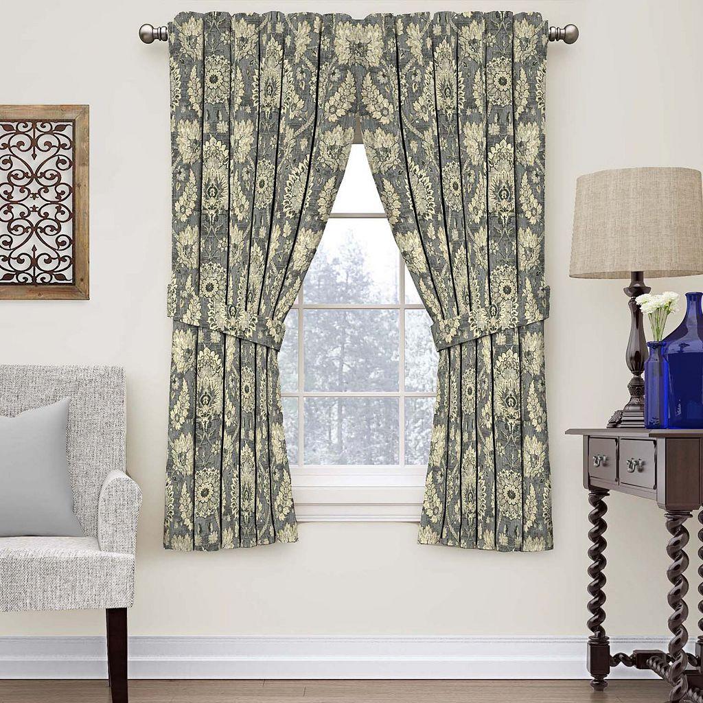 Waverly Clifton Hall Floral Window Curtain