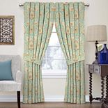 Waverly 1-Panel Clifton Hall Floral Window Curtain