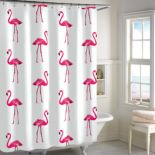 Destinations Flamingo Shower Curtain