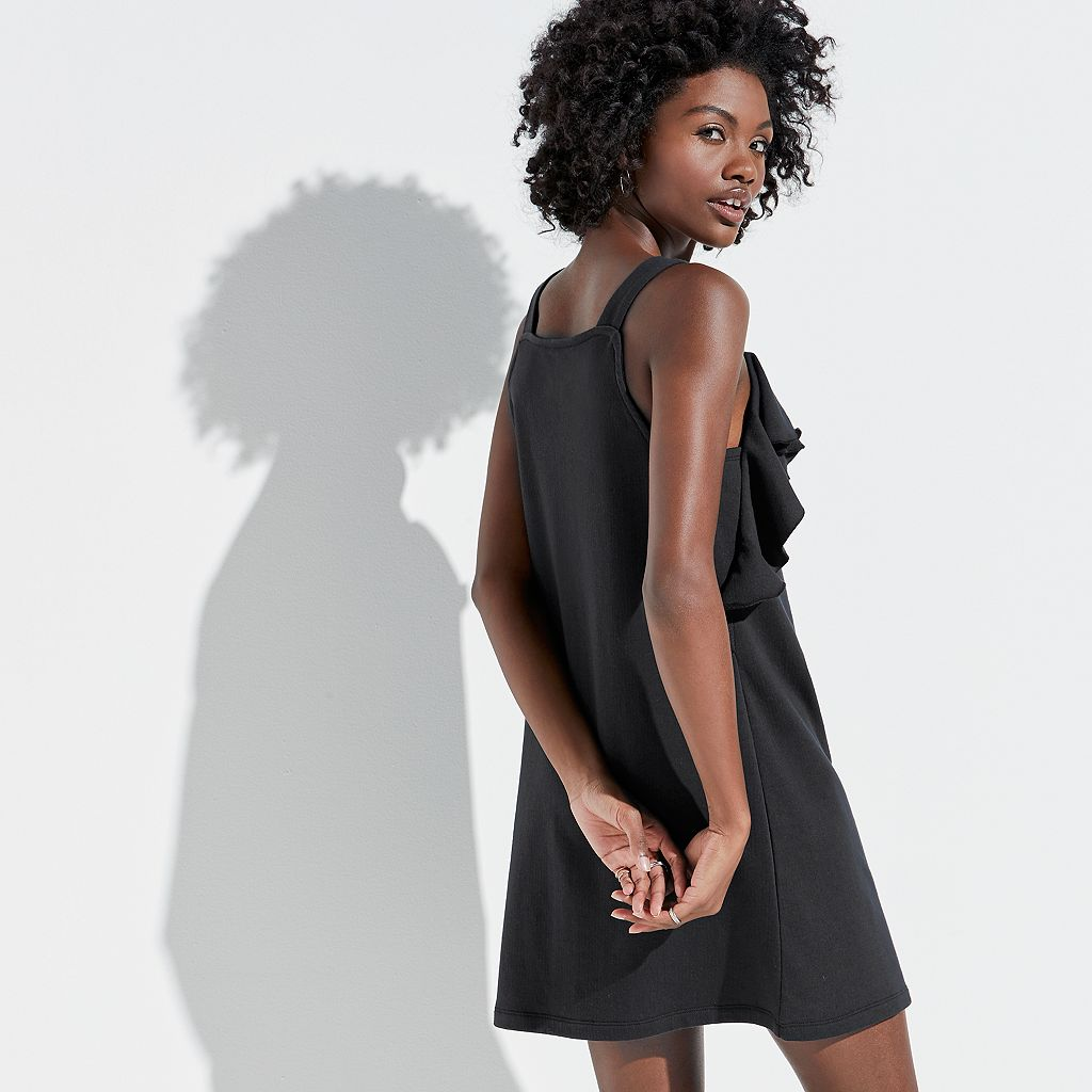 k/lab Ruffled Sweatshirt Dress