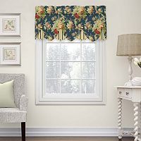 Waverly Sanctuary Rose Peek-a-Boo Valance