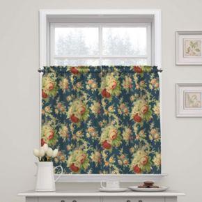 Waverly Sanctuary Rose Tier Curtain Pair