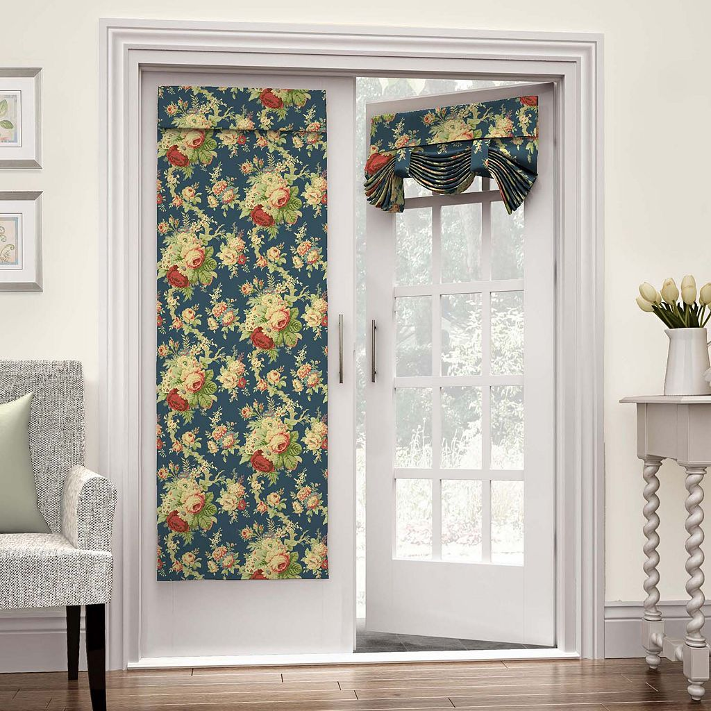 Waverly Sanctuary Rose French Door Curtain