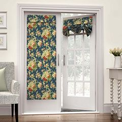 Waverly 1-Panel Sanctuary Rose French Door Curtain