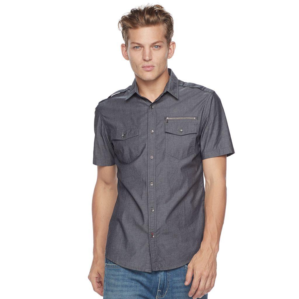 Men's Rock & Republic Stretch Woven Button-Down Shirt