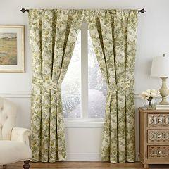 Waverly 1-Panel Spring Bling Window Curtain