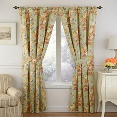 Waverly 1-Panel Spring Bling Window Curtain