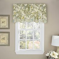 Waverly Spring Bling Scalloped Valance