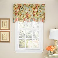 Waverly Spring Bling Scalloped Window Valance