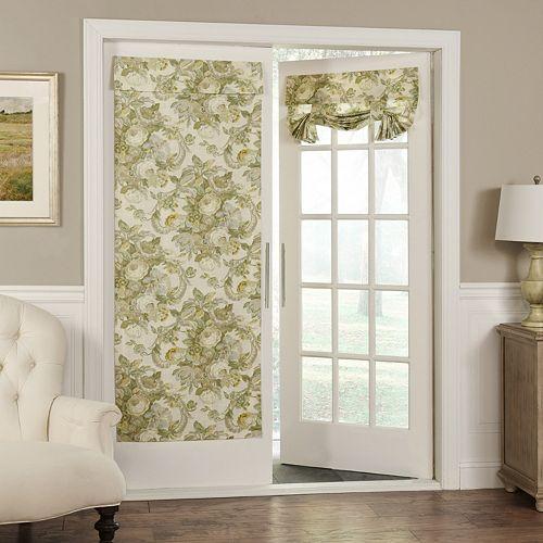 Waverly 1-Panel Spring Bling Door Curtain