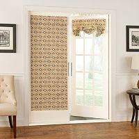 Waverly Lunar Lattice Door Curtain