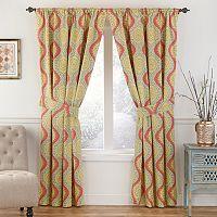 Waverly Moonlight Medallion Window Curtain