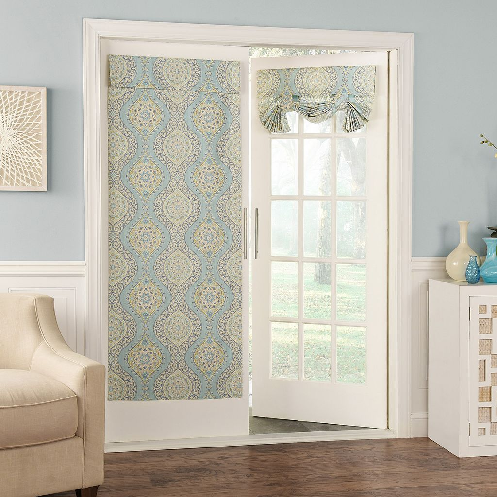 Waverly Moonlight Medallion Door Curtain