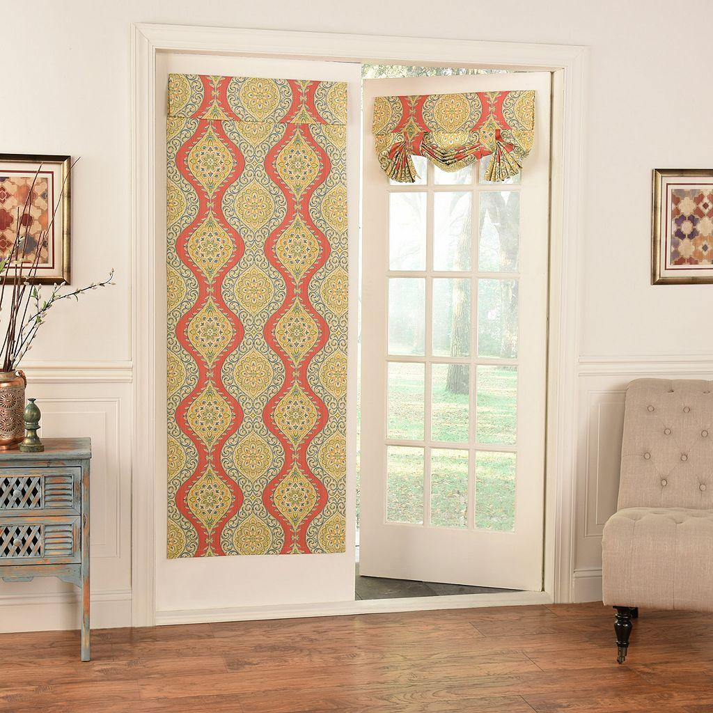 Waverly Moonlight Medallion Door Curtain