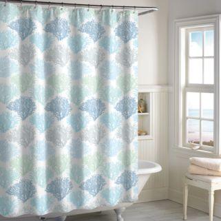 Destinations Sea Reef Shower Curtain