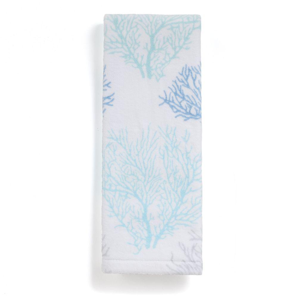 Destinations Sea Reef Print Hand Towel