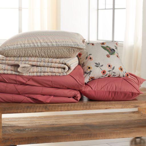 SONOMA Goods For Life™ Diamond Pleat Comforter Set