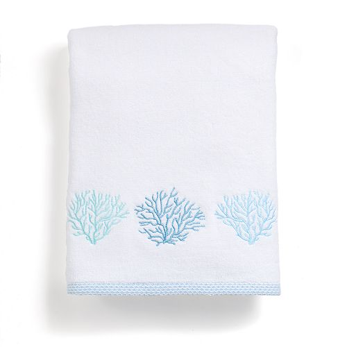 Destinations Sea Reef Embroidered Bath Towel