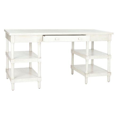 Safavieh Dixon Washed White Desk