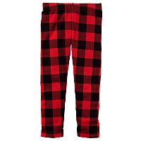 Toddler Girl Carter's Buffalo Checkered Leggings