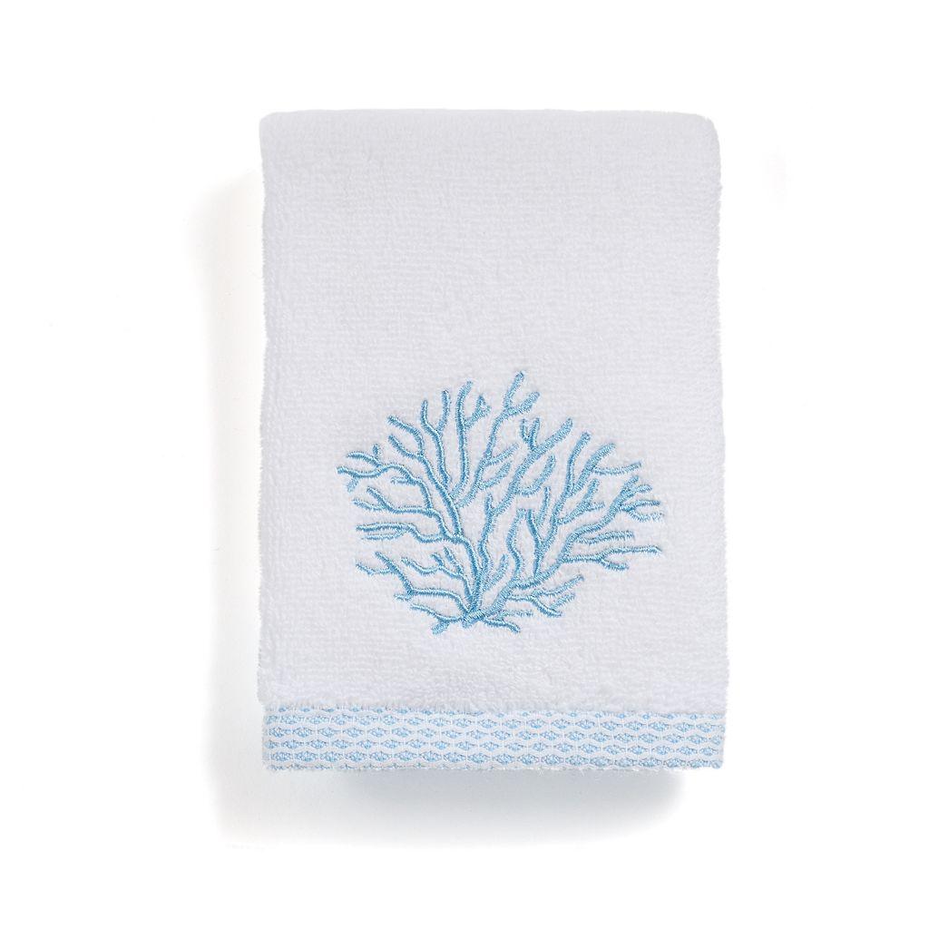 Destinations Sea Reef Embroidered Washcloth