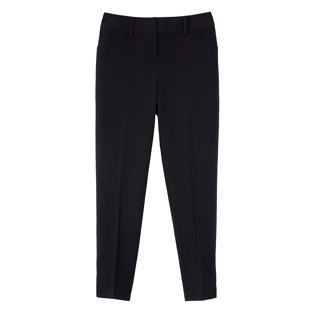 Girls 7-16 IZ Amy Byer Straight Leg Dress Pants
