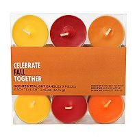 Celebrate Fall Together Harvest Tealight 9-piece Set