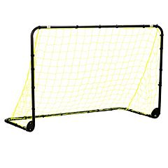Franklin Sports 4-ft x 6-ft Black Folding Soccer Goal