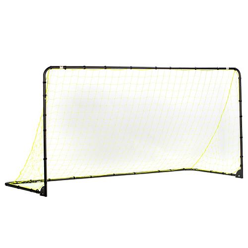 Franklin Sports 5-ft x 10-ft Black Folding Soccer Goal